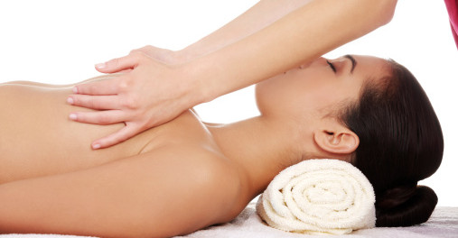 Massage your breasts to increase their size